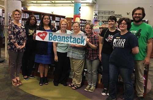 We love Beanstack! Brandon Library recognized as most Beanstack participation during summer programming! #CMRLSBrandon #Beanstack #Wewonthebrownies