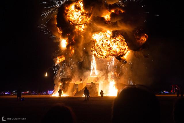 Burning Man 2018: I, Robot