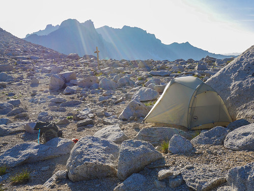 Camp 2 atop Junction Pass   by snackronym