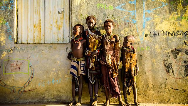 Niños Hamer, Ethiopia