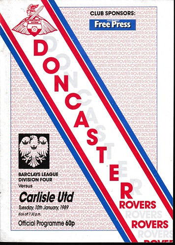 Doncaster Rovers V Carlisle United 10-1-89 | by cumbriangroundhopper