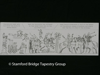 Panel 2 design | by Stamford Bridge Tapestry Project