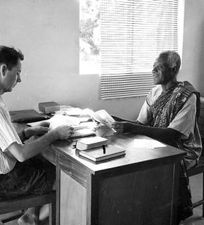 Carson Moyer Ghana colleague Ghana 1960