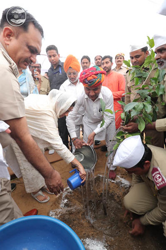 Tree Plantation by Satguru Mata Ji