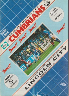 Carlisle United V Lincoln City 24-4-90 | by cumbriangroundhopper