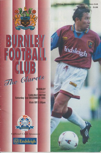 Burnley V Carlisle 2-12-95 | by cumbriangroundhopper