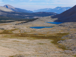 Wright Lakes Basin from Rockwell Pass | by snackronym