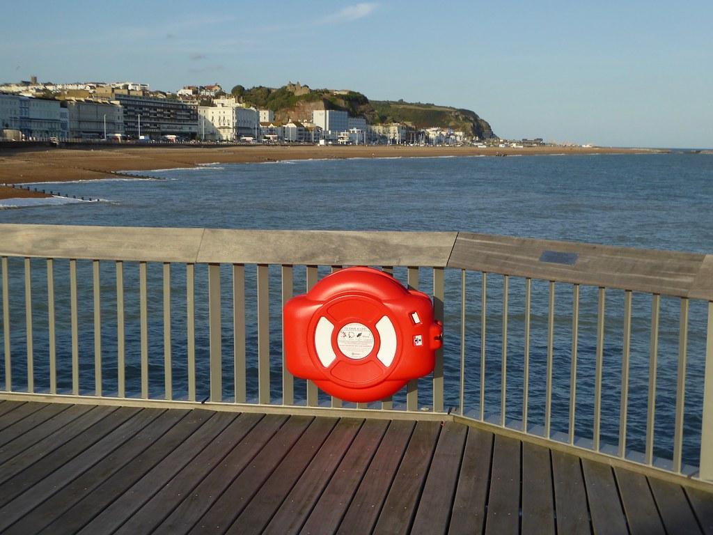 Hastings from the pier Winchelsea to Hastings via Three Oaks walk