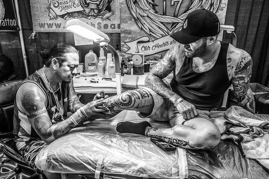 South Florida Tattoo Expo | Rob Soli of South Seas Tattoo Co… | Flickr