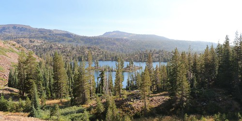 2797 Looking back at Susie Lake as we climb southward on the Pacific Crest Trail | by _JFR_