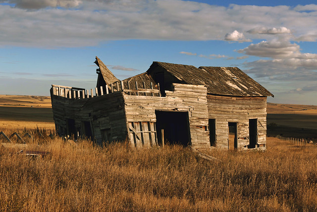 Old and forgotten in Alberta.