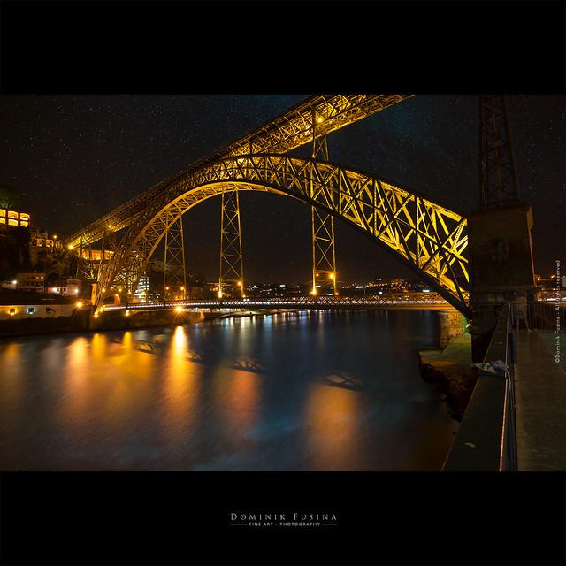 Ponte Dom Luiz I by Night | PORTO