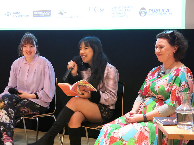 Annaleese Jochems, Tayi Tibble, and Helen Heath: The Body Issue: WORD Christchurch Festival 2018