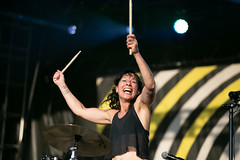 Matt and Kim en Riot Fest de Chicago 2018