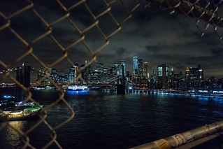Fenced NYC View | by orkomedix