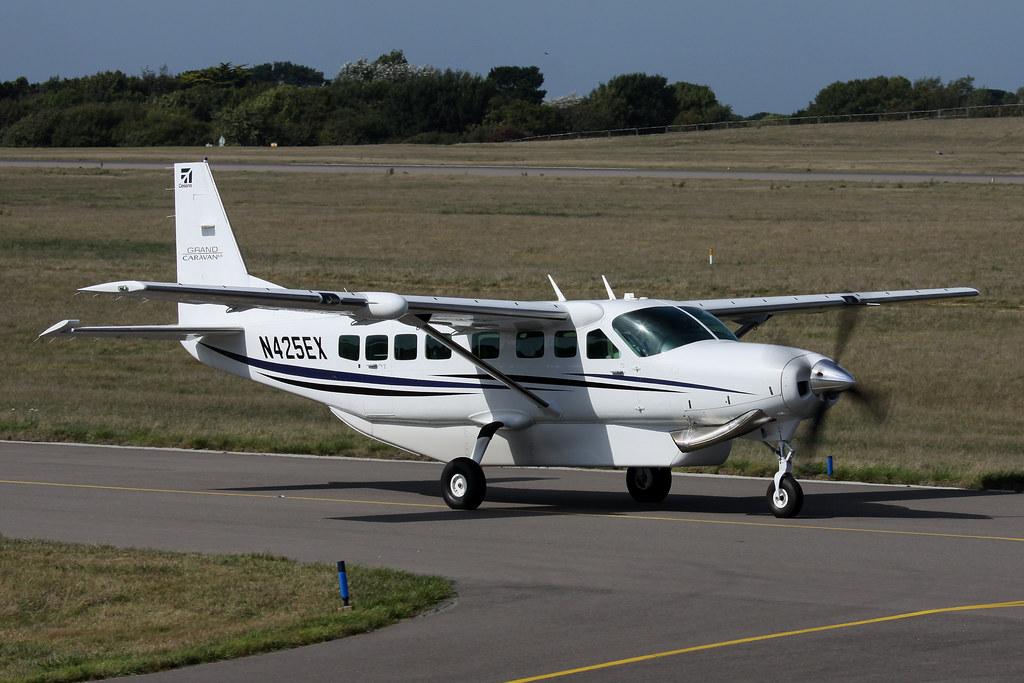 N425ex Cessna 208b Grand Caravan Ex Textron Aviation Inc Flickr