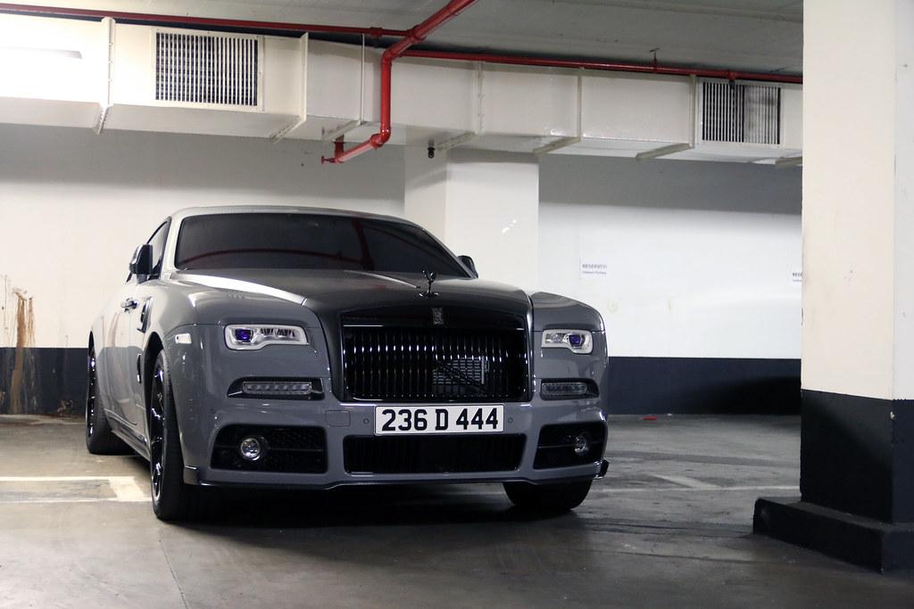 Rolls Royce Mansory Wraith Black Badge Instagram R Simmerman Flickr