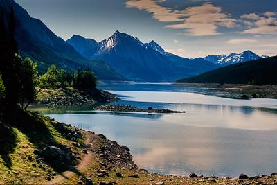 Medicine Lake, Jasper National Park, Canada