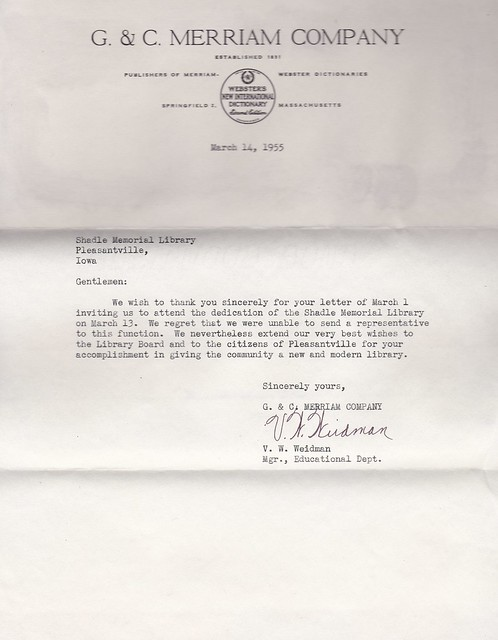 SCN_0041 Invitation Response from GC Merriam Company 1955