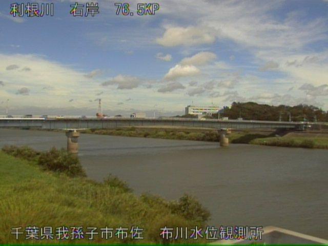 利根川水位ライブカメラ