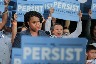 Ayanna Pressley at the Unity Rally - Cambridge, MA | by Elizabeth Warren