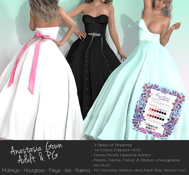Vanilla Bae ~ Anastasia Wedding Dress Vendor
