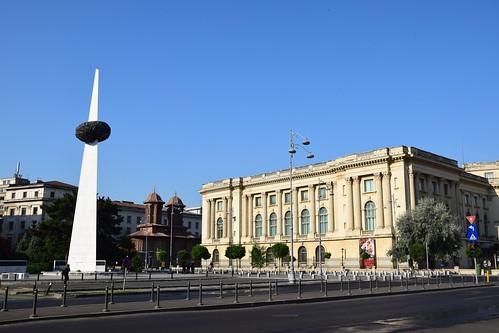 2018 bucarest rumanía românia plaza monumento valaquia europeanunion europa europe