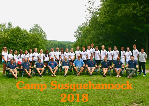 2018 Staff | by CampSusquehannock