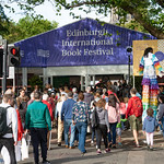 Arriving at the Book Festival | © Robin Mair