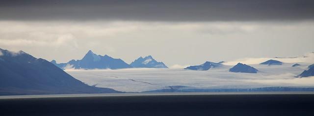 Arctic panorama, Spitsbergen
