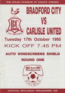 17.Bradford V Carlisle 17-10-95 | by cumbriangroundhopper
