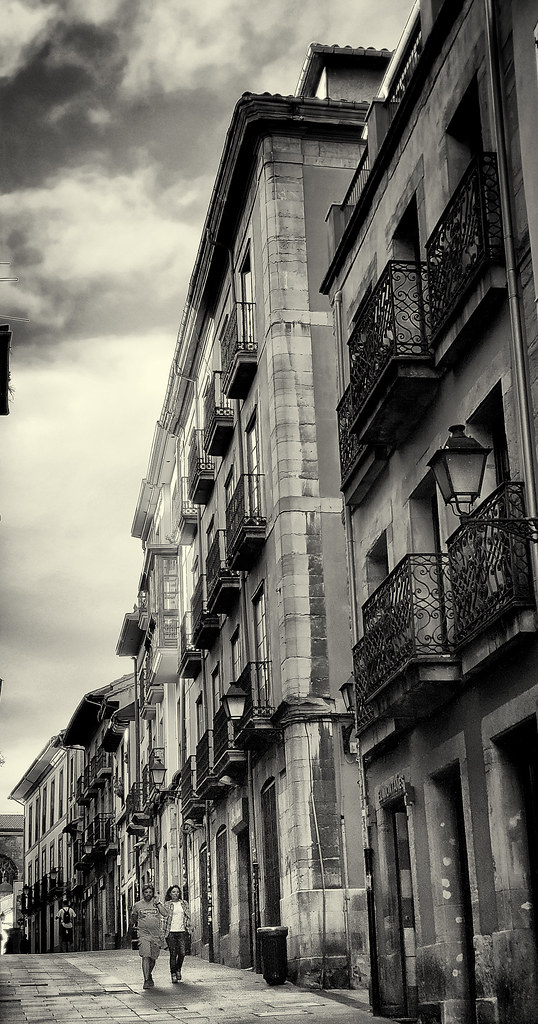 Oviedo, Spain, early evening