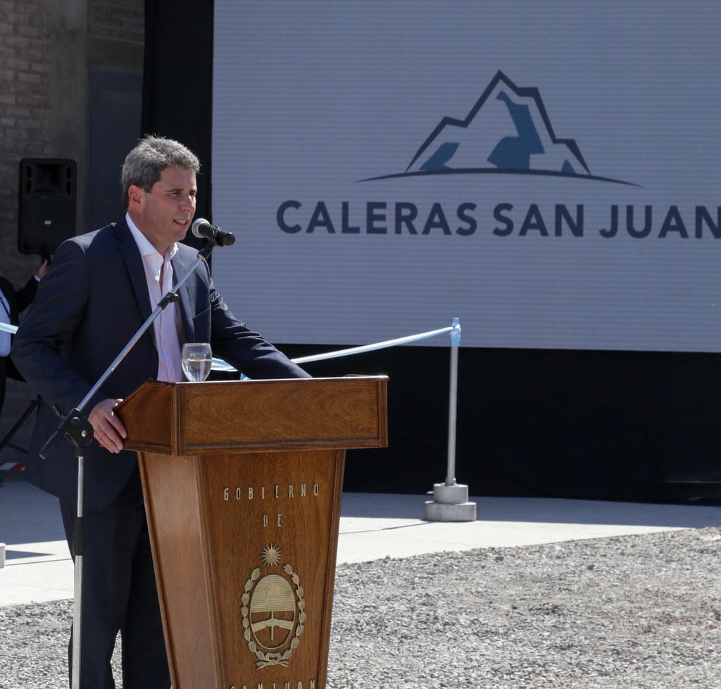 2018-09-14 PRENSA: Inauguración del Horno Maerz en Calera San Juan S. A