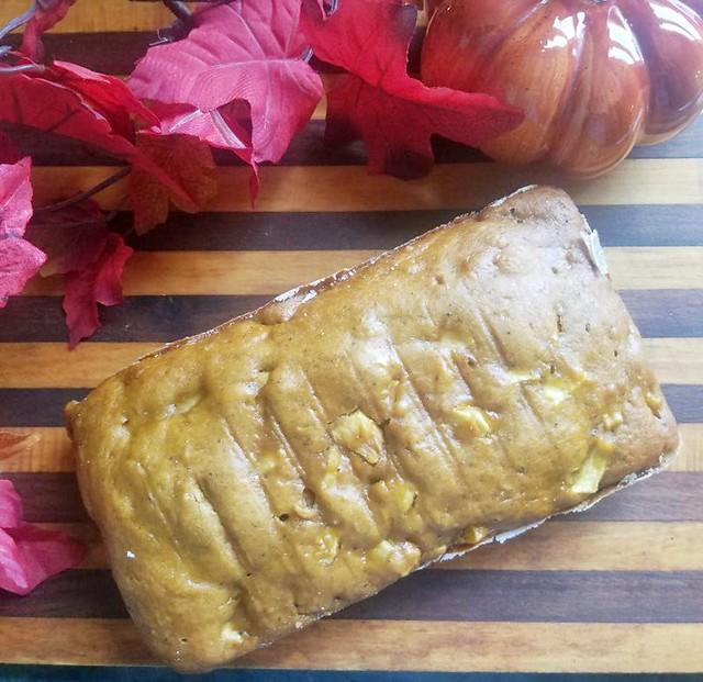 Autumn Apple Pumpkin Bread