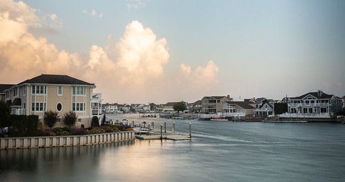 jerseyshore newjersey stoneharbor sunset bay dusk nj vacation unitedstates us