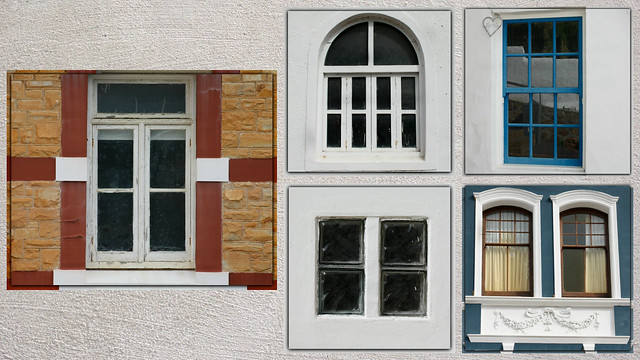 Windows of Simon's Town