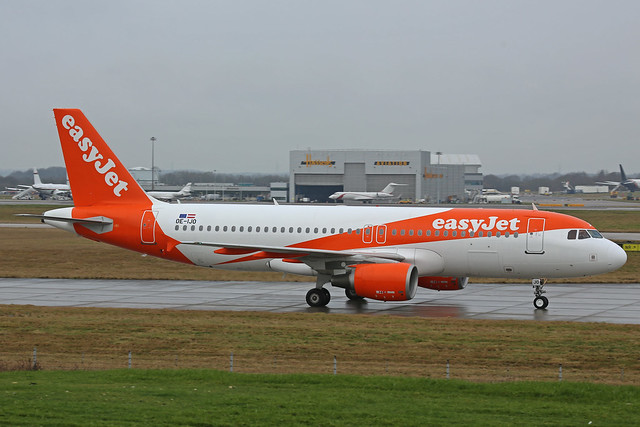 OE-IJO Airbus A320-214 Easyjet Europe Stansted 03rd February 2018