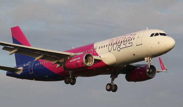Wizzair, HA-LSA, MSN 8362, Airbus A 320-232(SL), 30.08.2018,  HAM-EDDH, Hamburg (Delivery date: 05.07.2018)