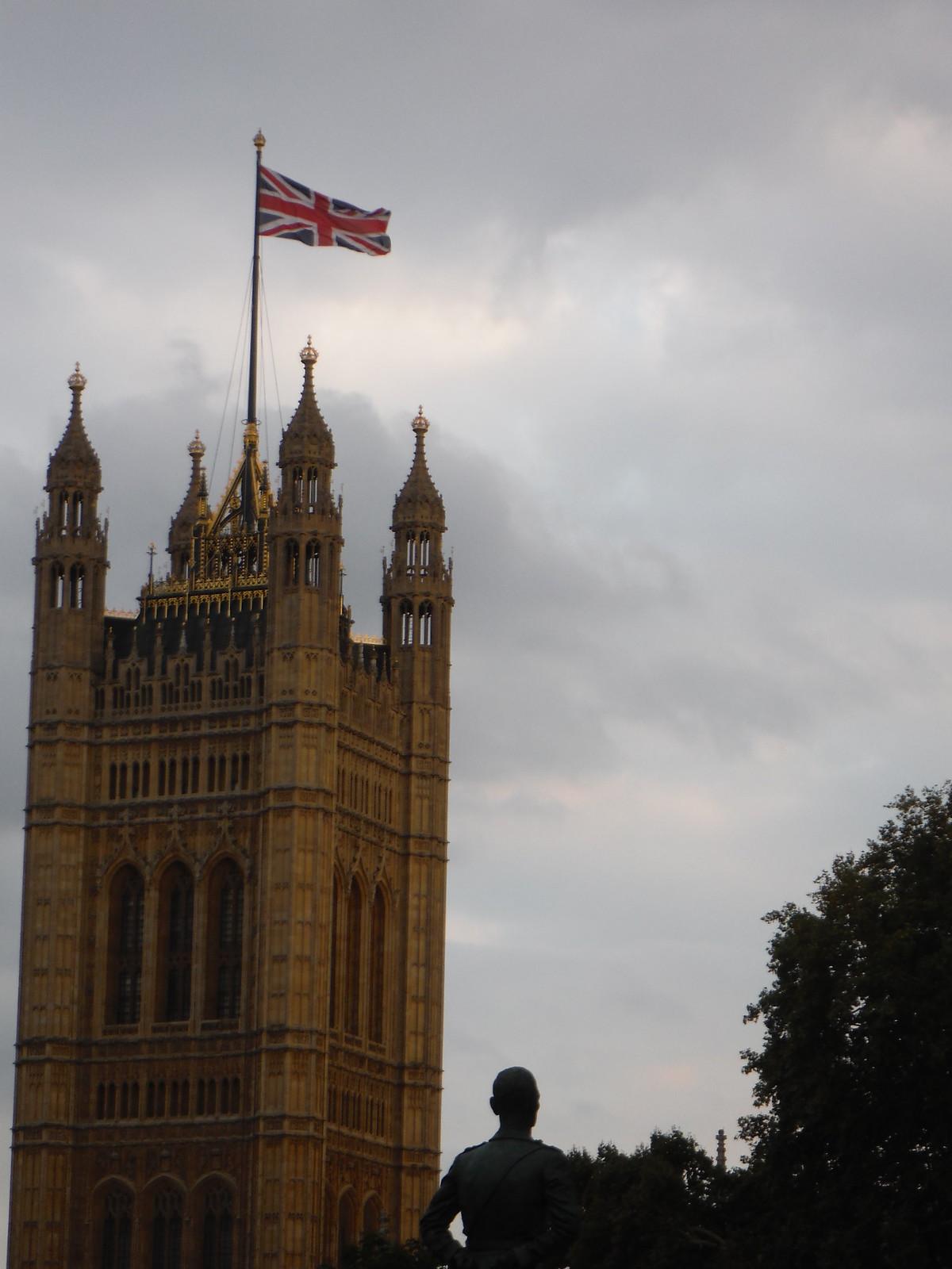 Houses of Parliament (detail) SWC Short Walk 19 - Royal Parks