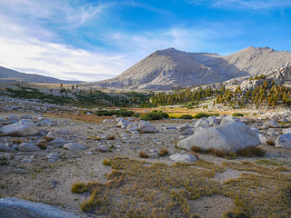 Late afternoon around camp in Wright Lakes basin | by snackronym