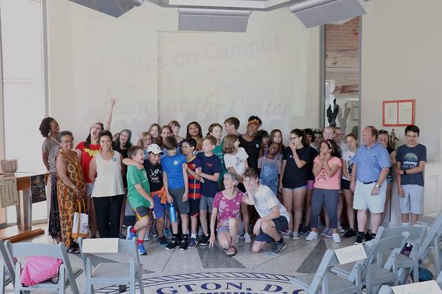 CfAS Kids on Campus Event on Sept. 2018