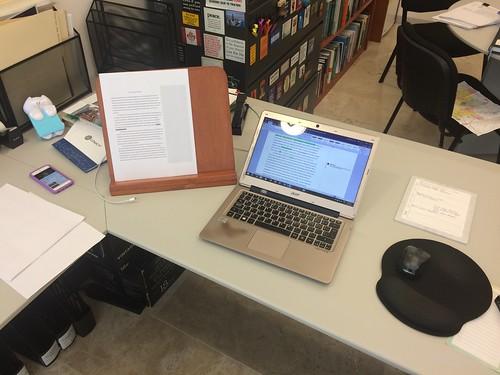 Editing a paper