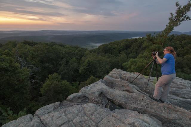 Kelli Lewis, Black Mountain, Cumberland Trail SP, Cumberland County, Tennessee