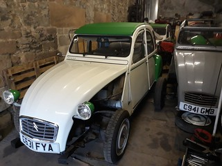 2CV6 work continues