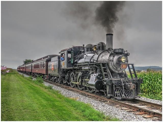 Strasburg Railroad's Canadian National 98 @ Strasburg, PA