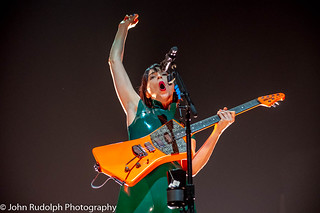 St. Vincent shot for Back Beat Seattle | by John Rudolph Photography