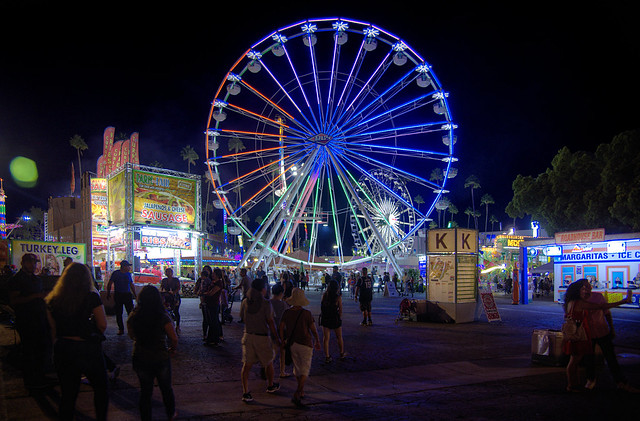 Late Summer Night at the County Fair