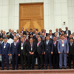 Group photo of heads of delegations