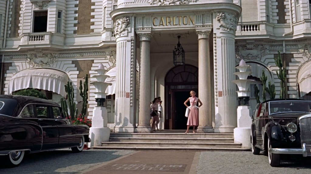 Grace Kelly Outside Carlton Hotel To Catch A Thief 1955 Flickr