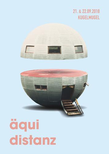 Äquidistanz Festival Poster   by klubmoozak